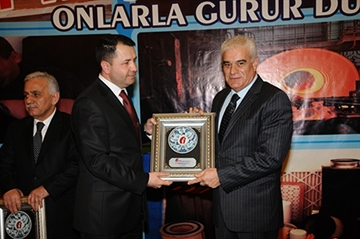Hatay's Champions of 2012 Award Ceremony