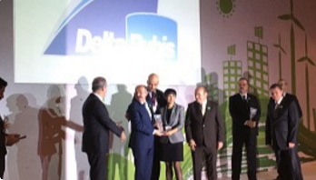 Delta Rubis has been deemed worthy to Environment Award from Turkish Union of Healthy Cities.